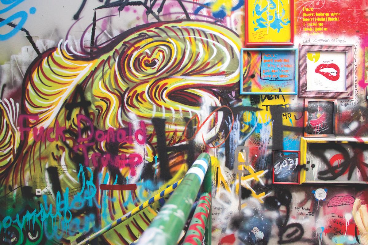 Graffiti Stair Well