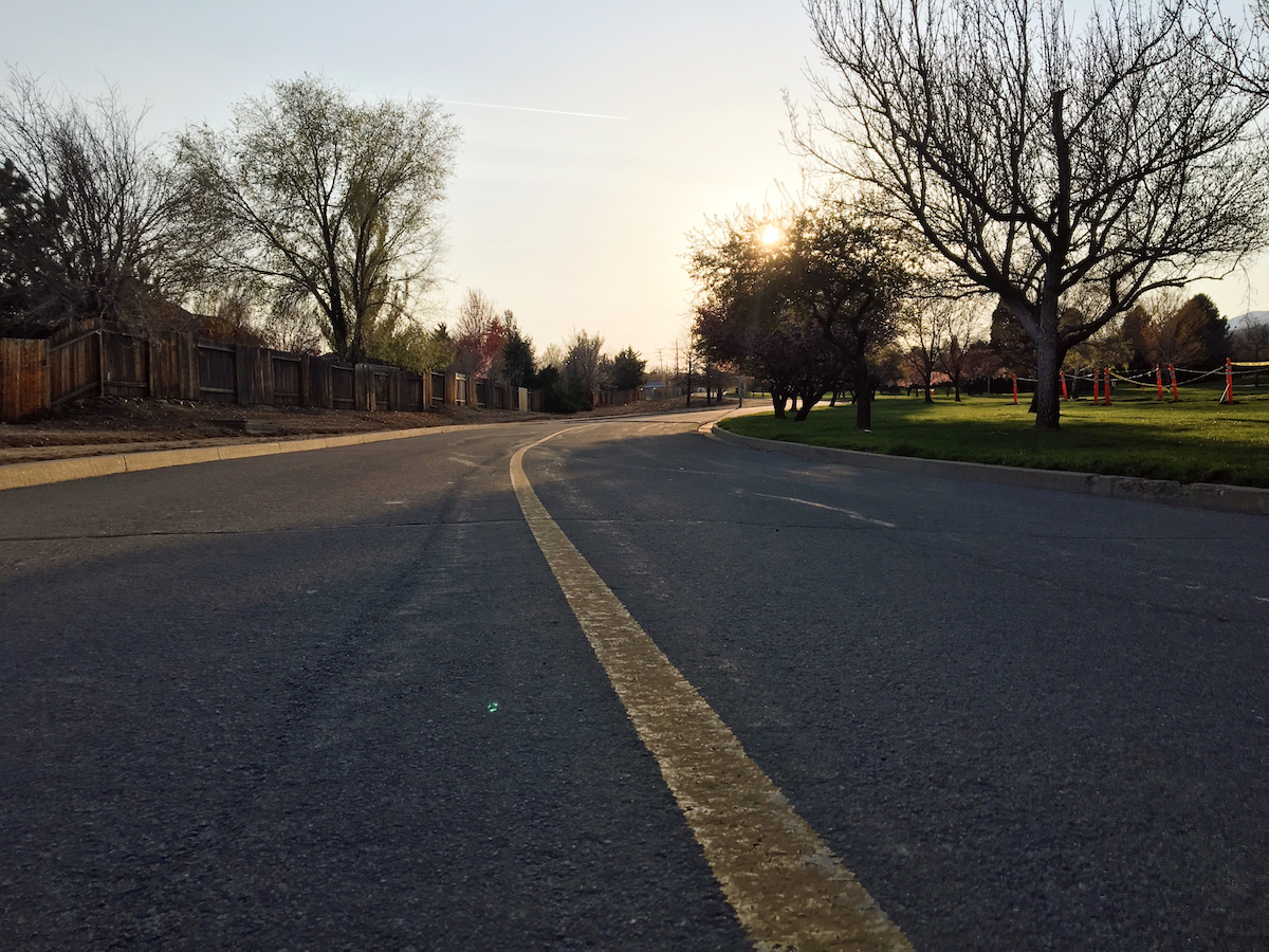 Rancho San Rafael road