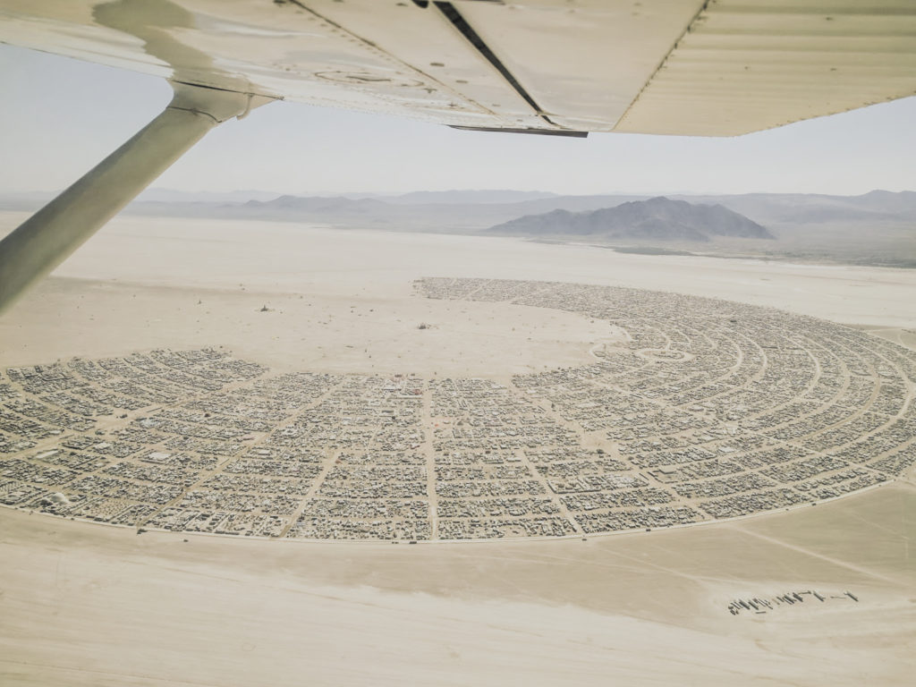 The shape of the playa